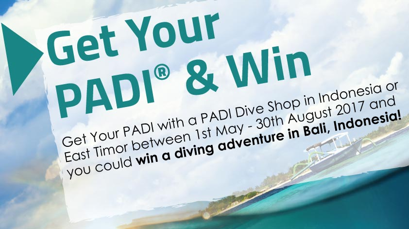 get your PADI & win contest