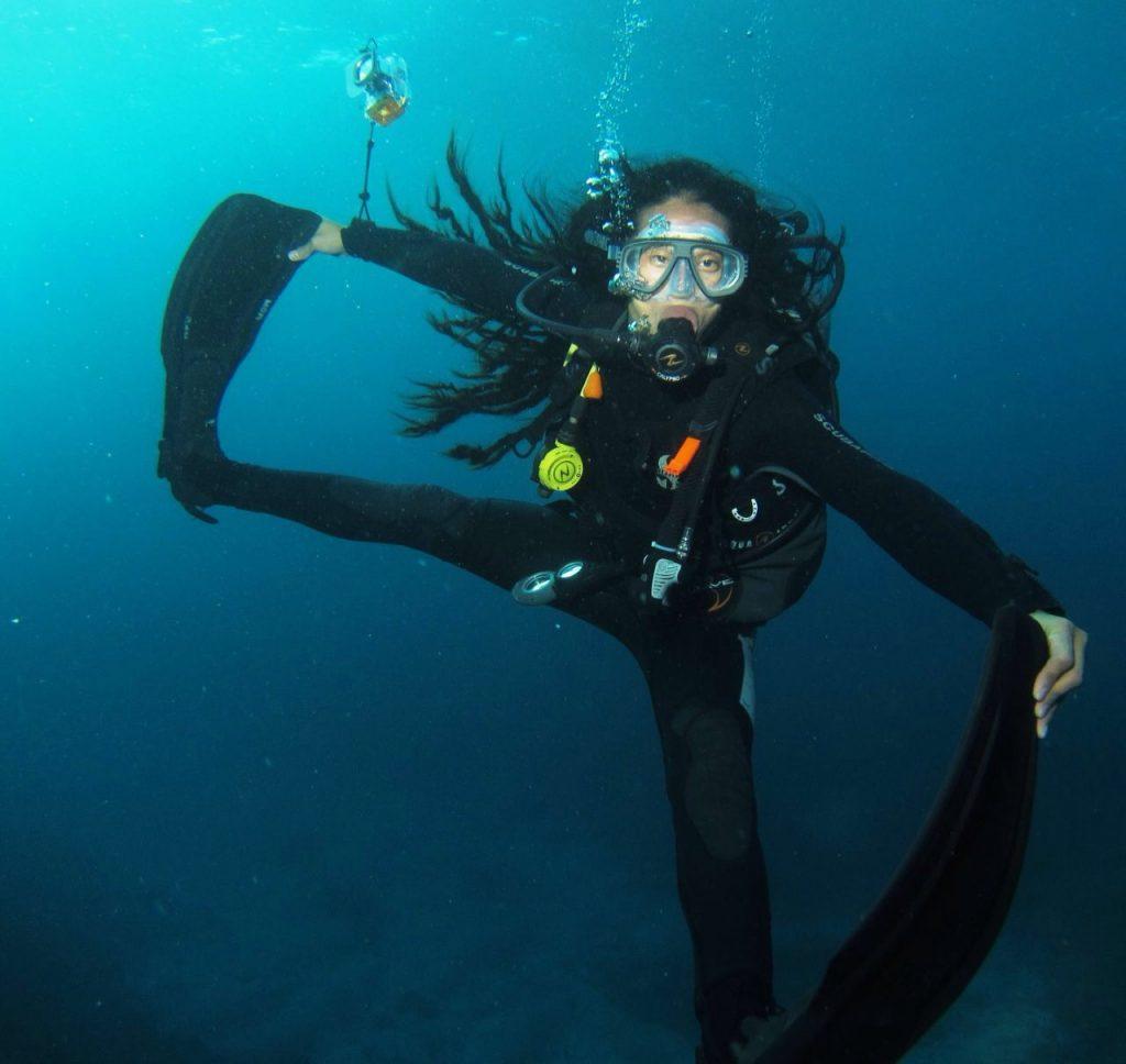 Yoga and Scuba Diving in Nusa Lembongan