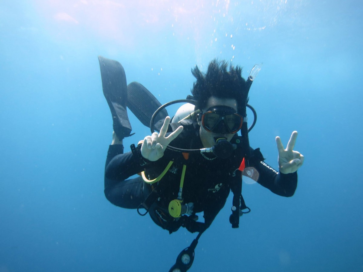Learn to Dive in Nusa Lembongan